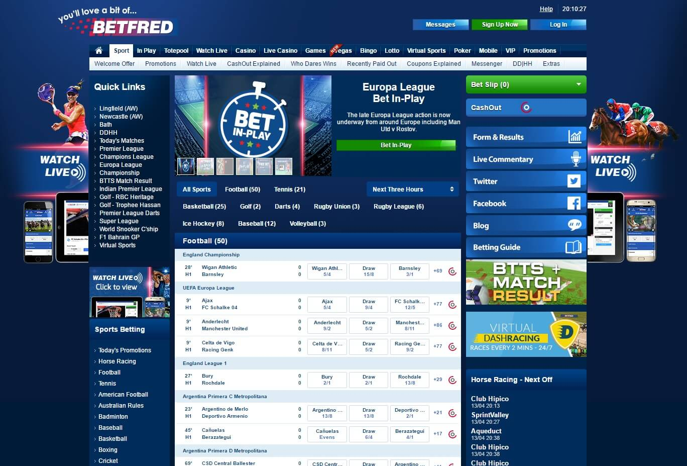 Betfred sportsbook betting online benzyl isothiocyanate bitcoins