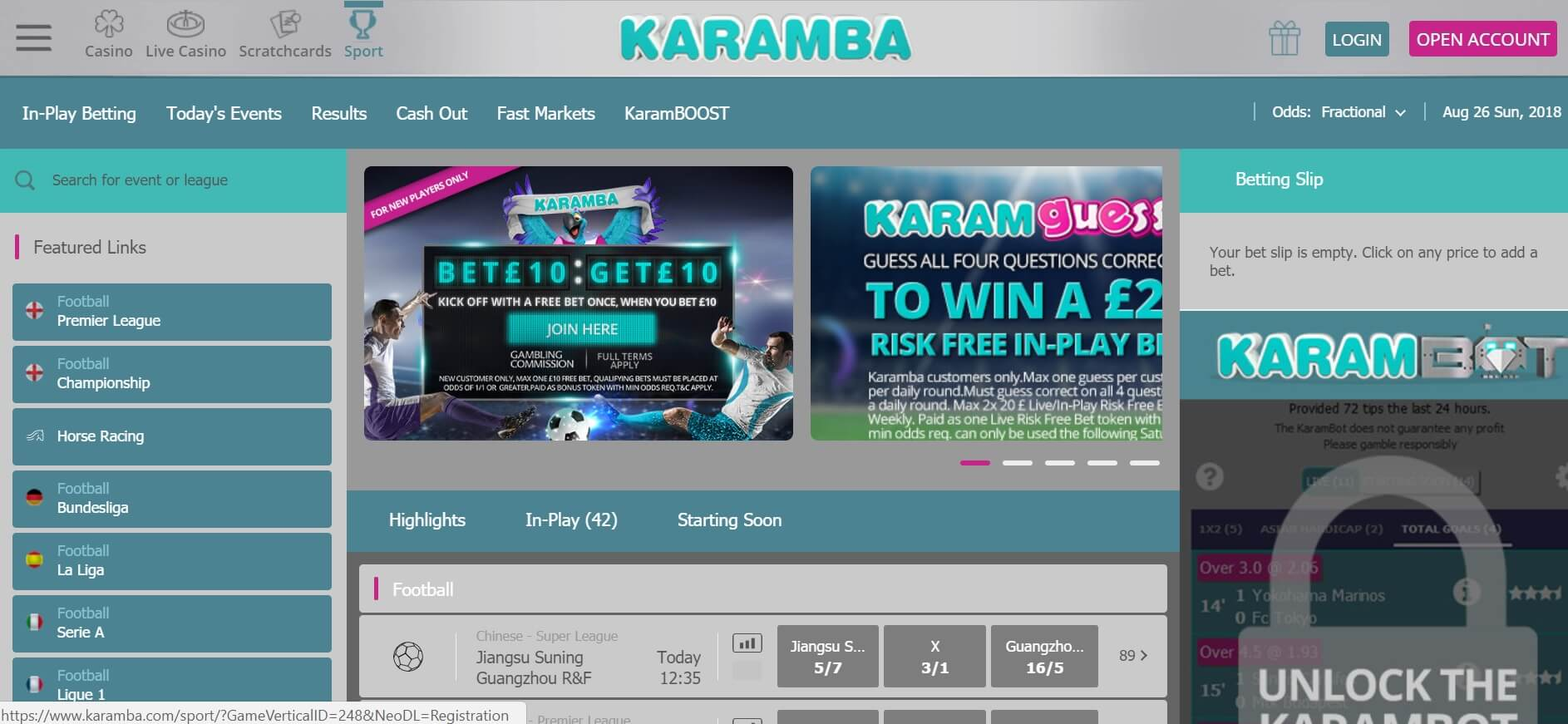 karamba sports review